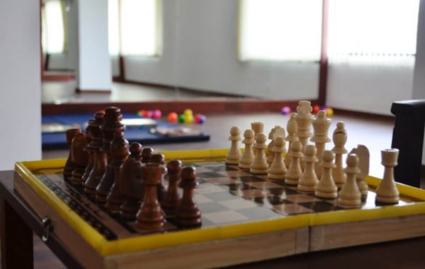 Indoor Chess Game