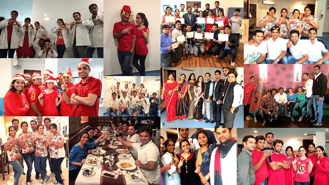 SuVitas Team Celebrating Christmas