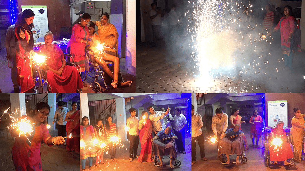 SuVitas Family on the Eve of Deewali