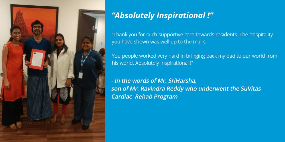 Ravindra Reddy - SuVitas Testimonial