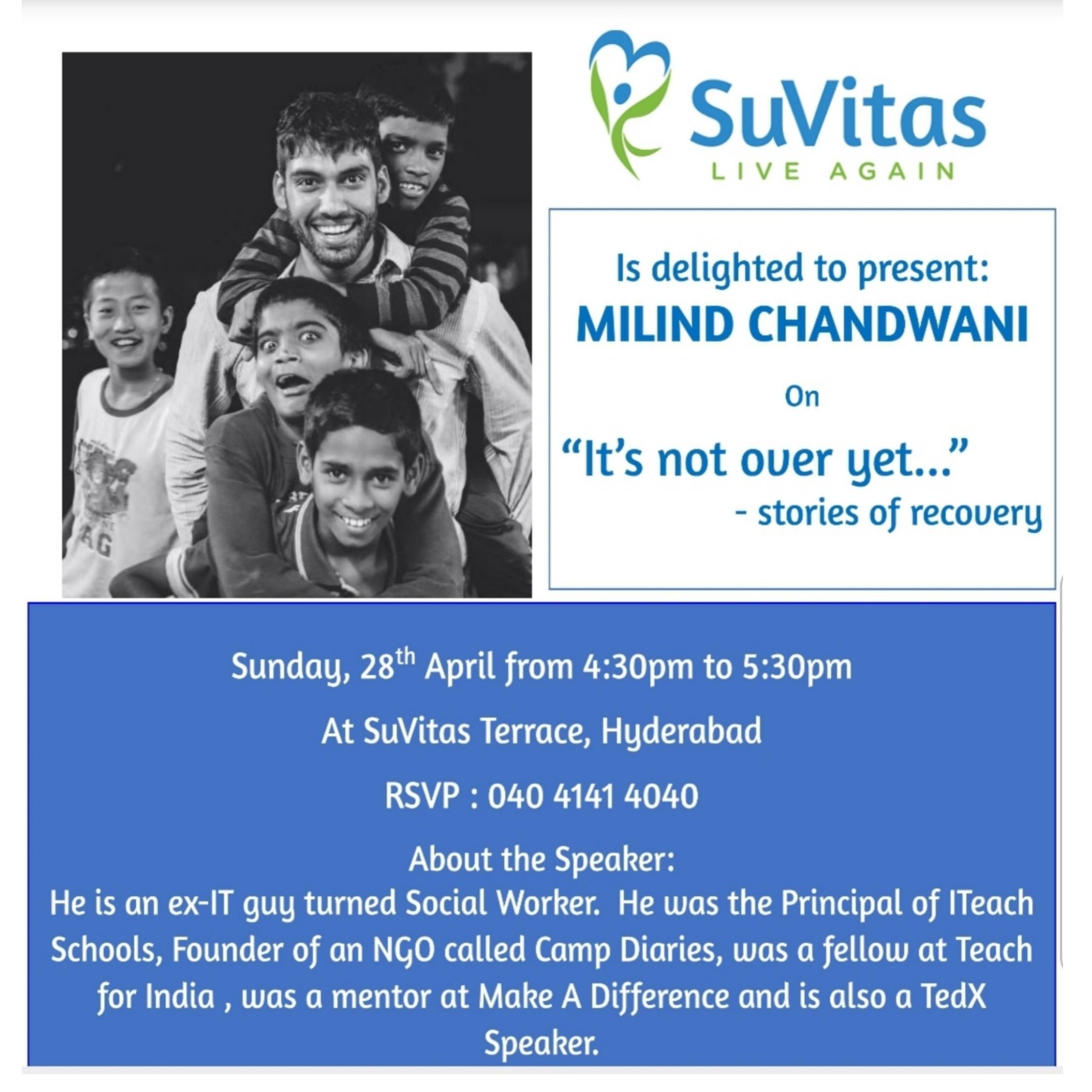 Sundays@SuVitas - Milind Chandwani